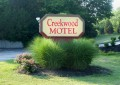 Creekwood Motel Sign