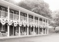 black and white photo of Creekwook Motel
